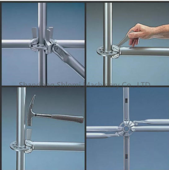 Galvanized Ringlock Layher Allround Scaffolding for Australia pictures & photos