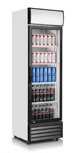 Beverage Display Cooler One Door with Ce, CB, RoHS pictures & photos