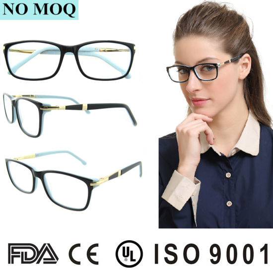 Cheap China Latest Branded New Model Optical Rectangular Spectacle ...