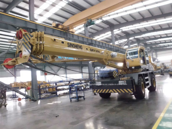 50 Tons New Rough Terrain Crane with Cheap Price Qry50 pictures & photos