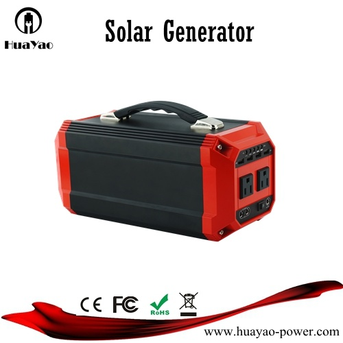 300W/270wh off-Grid System Lithium Battery Solar Generator for Home/Outdoor