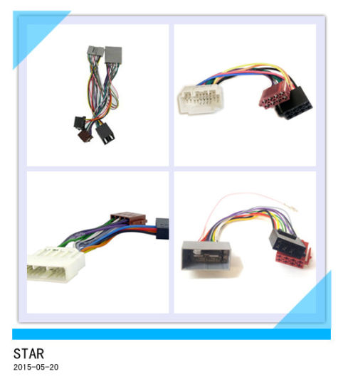 china automobile audio cable player wire harness with connector rh starconnect en made in china com