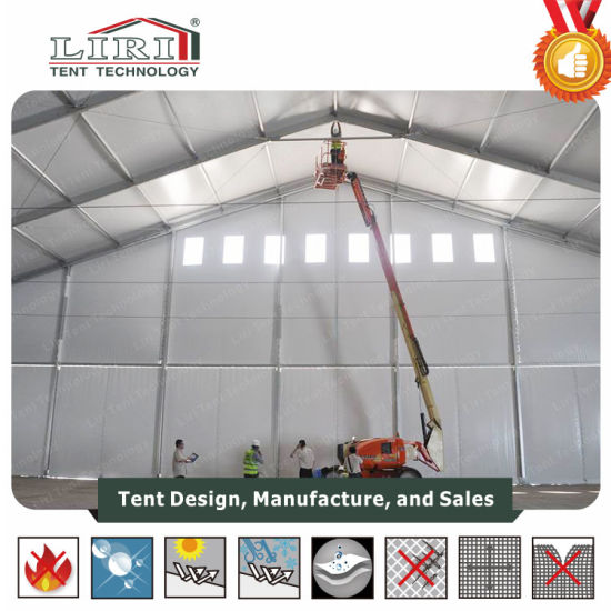 Outdoor Temporary Storage Tent for Sale, Warehouse Storage Tent for Events pictures & photos