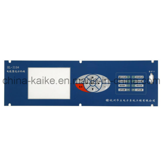 Pet PC Keypad Button Material and Industrial Control Application Membrane Keyboard