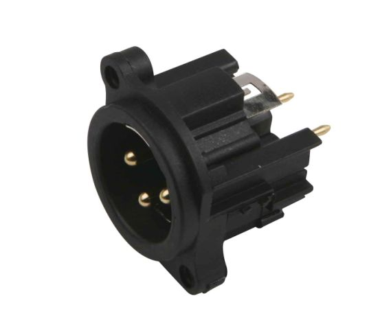 Microphone Connector for Microphone Cable and Mixer