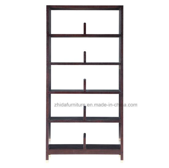 Oriental Antique Furniture5 Layers Black Bookshelf