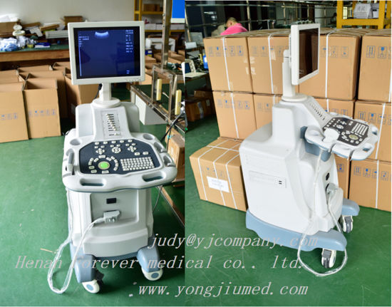 Digital Trolley Diagnostic Scanner Ultrasound System pictures & photos