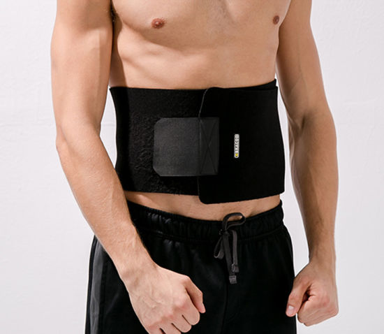 Classic Black Belt Best Hot Selling Adjustable Waist Trimmer Belt Running Waist Belt Sports Support Belt Physical Therapy Health Care Belt pictures & photos
