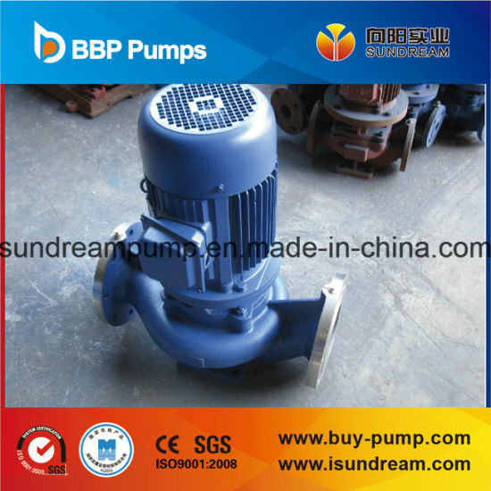 Isg/Ihg Electrical Vertical Inline Centrifugal Pump CE Approved pictures & photos