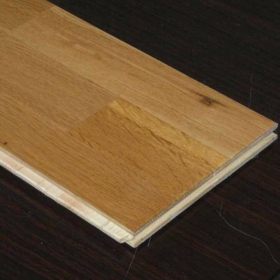 China The Best Quality Cheap Price Unilin Lock 15mm4mm 3 Strip Oak