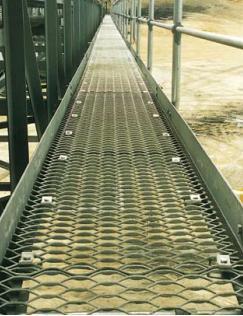 Tec-Sieve Heavy Duty Expanded Metal Walkway / Expanded Mesh Walkway