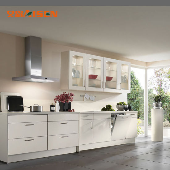 New Modern Calacatta Quartz Slab Price Kitchen Cabinets Designs For Small Spaces From China