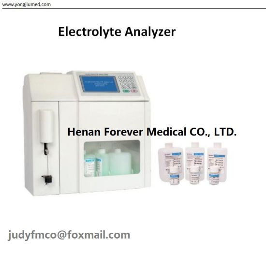 ISE Direct Method Laboratory Electrolyte Analyzer with 6 Parameters pictures & photos
