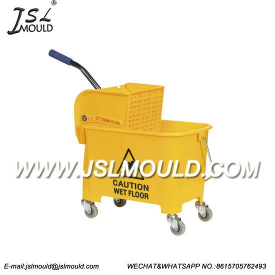 Heavy Duty Plastic Wet Mop Bucket Wringer Mould