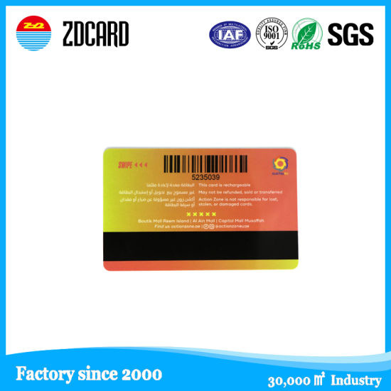 Preprinted PVC Plastic Magnetic Strip Card for Gift Cards pictures & photos