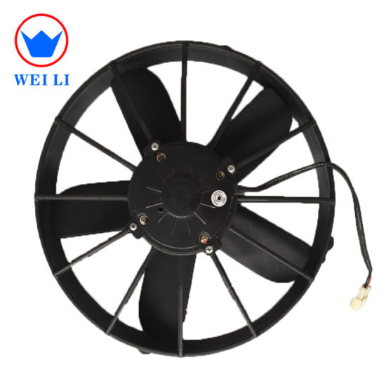 China Best 24volts DC Cooling Fan for Bus Air Conditiner Condenser