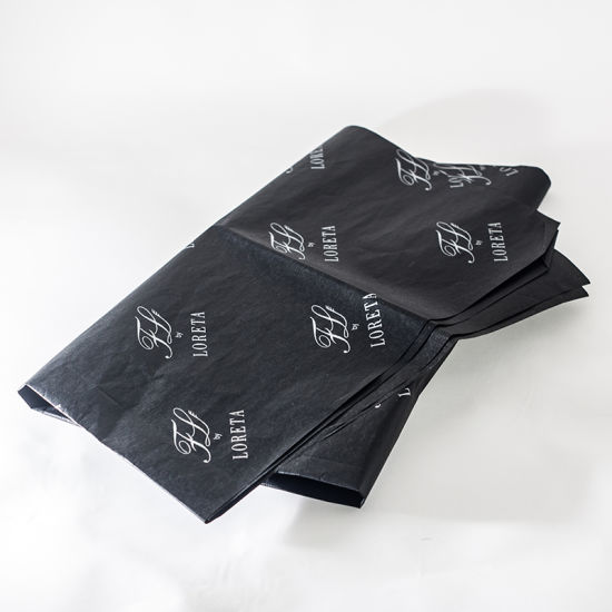 Black Color Printing Tissue Paper for Gift Packaging pictures & photos