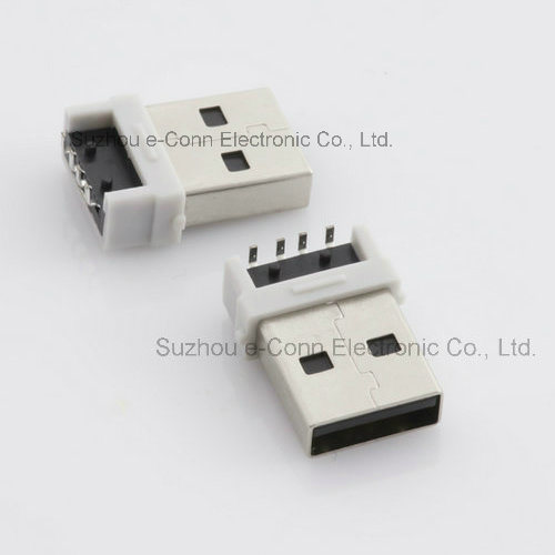 90degree USB2.0 Male/Female Connector PCB End pictures & photos