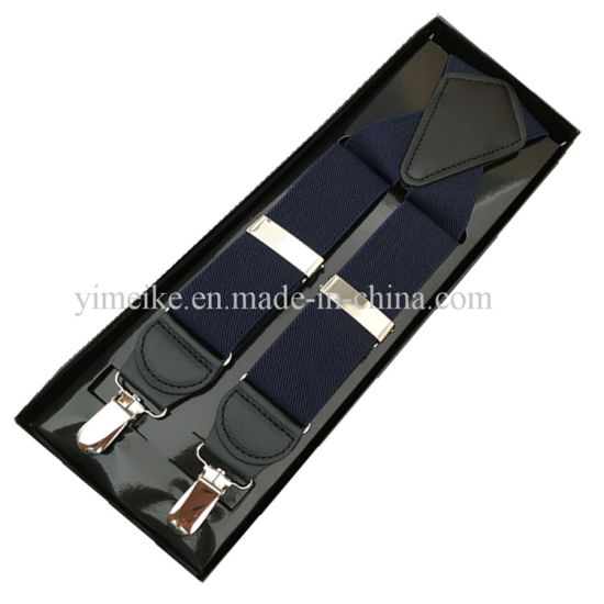 Customized Factory Direct Sell High Quality Fashion Men Suspenders