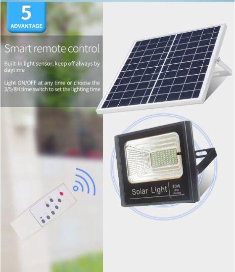 Solar Led Flood Light 100w High Power Waterproof Portable Outdoor Billboard Light Remote