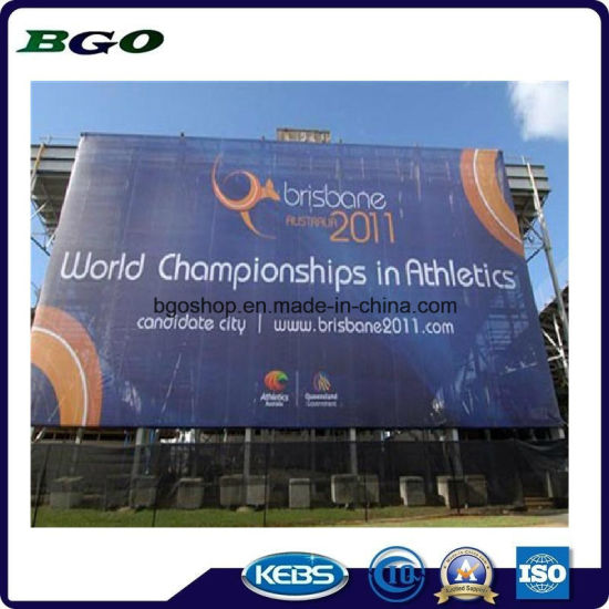 Mesh Fabric Printing Billboard PVC Mesh Banner (1000X1000 18X9 370g) pictures & photos