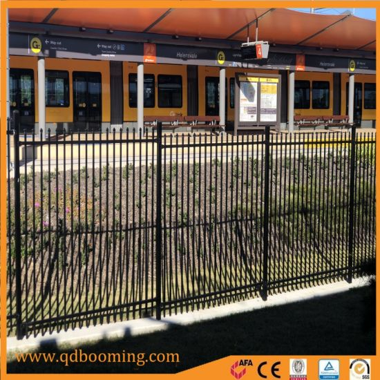 Factory Supply Powder Coated Spear Top Fence