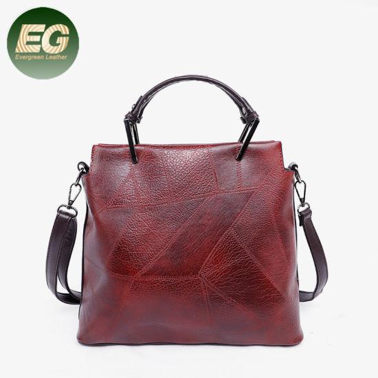 Vintage PU Leather Women Handbags Tote Bags Factory Wholesale Sh888