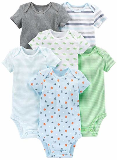 Baby Boys′ Short-Sleeve Bodysuit pictures & photos