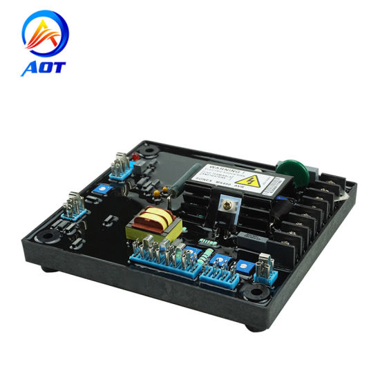 electrical circuit diagram avr mx450 for diesel generator parts  chinese electrical parts diagram #10