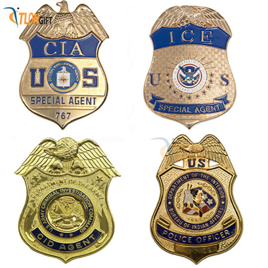 High-Quality Metal Badge Manufacturers Customize Gift and Institutional Badges with Pin