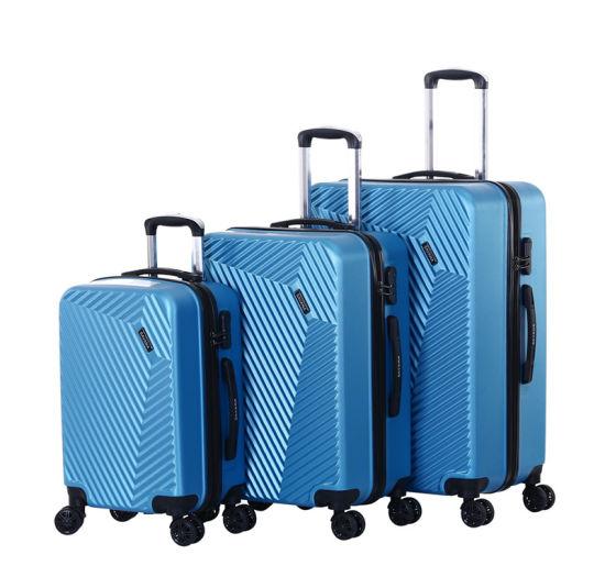Light Weight Trolley Case, Fashion Design 3PCS Set Luggage Bag (XHA131)