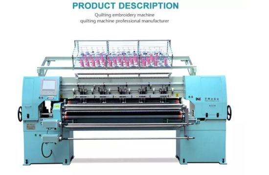 Ybd64 2 New Promotion Industrial Computer Quilting Machine Multi Needle Quilting Machine