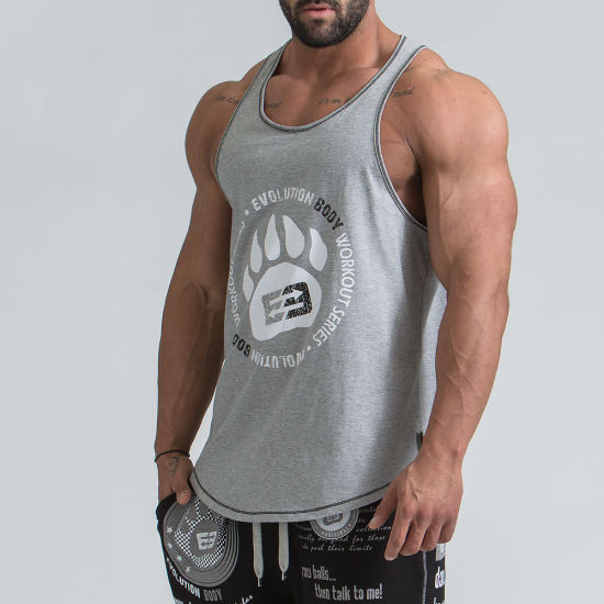 634623cf6d China Manufacturer Custom Mens Fitness Black Clothing Cotton Active Gym  Tank Top