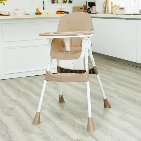 Promotional High-Quality 5-Point Harness Portable Baby Highchair