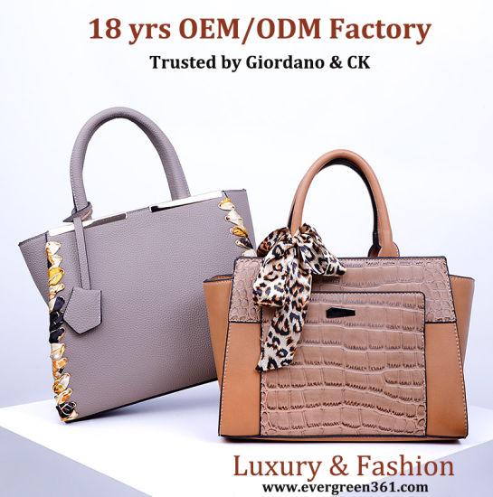 18Yrs Professional customization Genuine leather Bag Woman Designer Market China Wholesale Handbags Ladies top quality Ladies Women Luxury fashion Lady Handbag