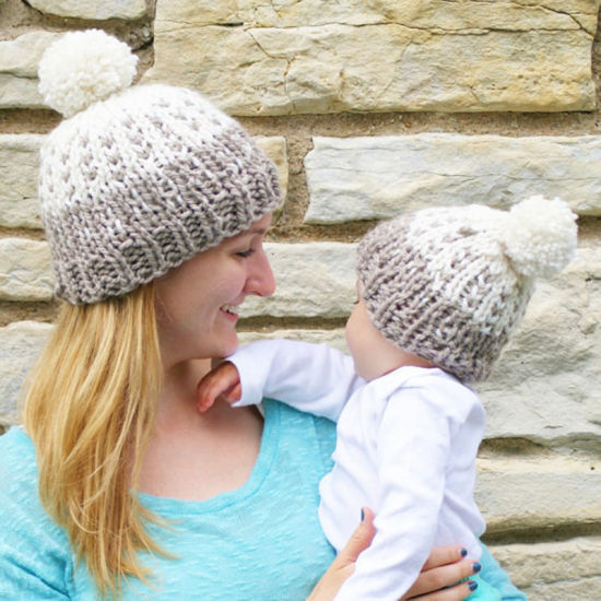 430dff238972f China 2PCS Parent-Child Hat Winter Warmer