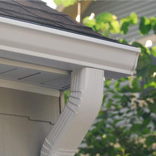 House Roofing Rainwater Drainage System Aluminum Rain Gutter