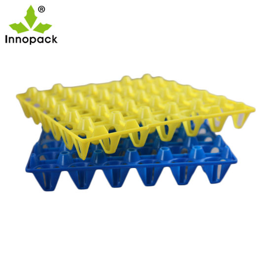Hot Colorful Plastic Egg Tray 30 Holes PP Egg Pack Tray for Chicken Duck Goose Quail Packing pictures & photos