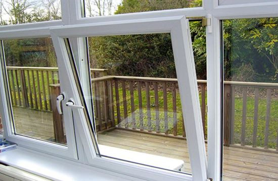UPVC Window Designs PVC Doors and Windows Frames pictures & photos