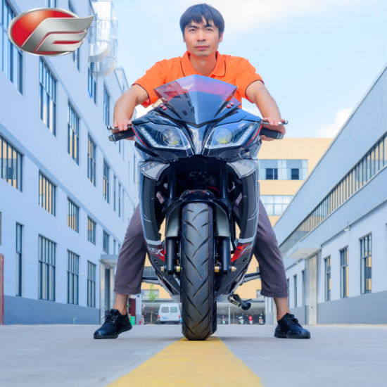 Hot Sale Electric Motorcycle with Long Range 72V5000W80ah