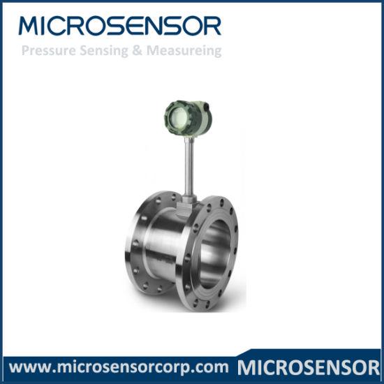 24 VDC Digital Modbus Air Gases Liquids Flow Measurement 4~20mADC Customized Vortex Flow Meter LUGB