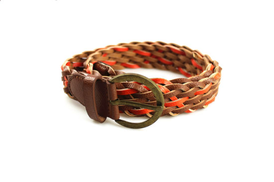 Customized Fashion Webbing Belts for Women Retro Ladies Waist Belt pictures & photos