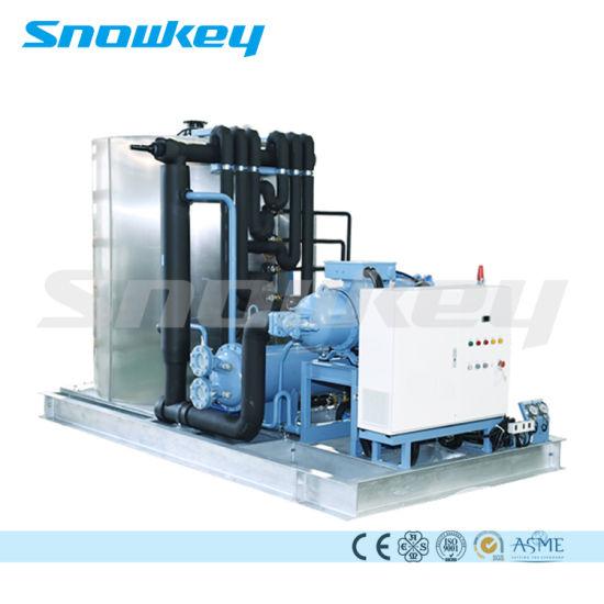 Snowkey Water Cooled Air Cooled Flake Ice Machine Ice Flake