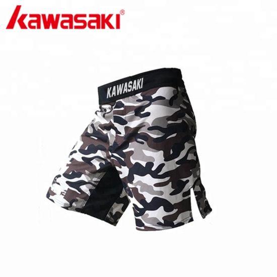 51fd59fd724 Custom Clothing Sublimation Print 4 Way Stretch Camo MMA Clothes Shorts