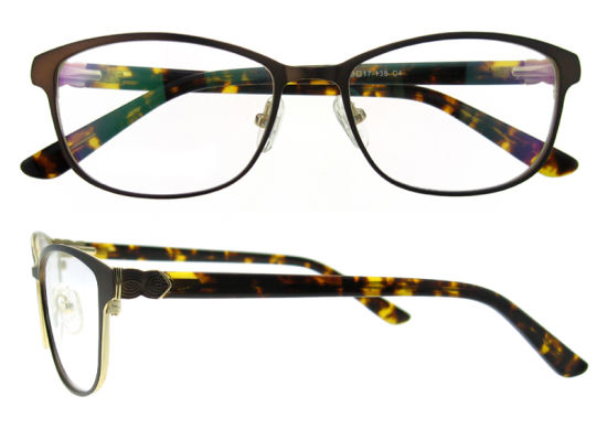 China Custom Logo Eyeglass Frames Fashion Naked Glasses Handmade ...