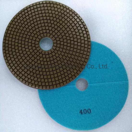 7 Inch 180mm Wet Granite Marble Concrete Diamond Polishing Pad