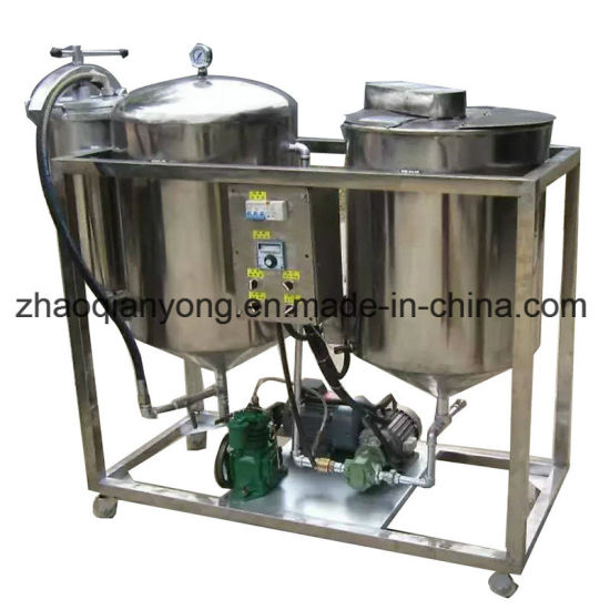China Vegetable Small Scale Coconut Corn Mini Crude Oil