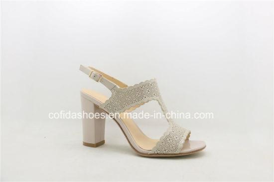 67cab6daf China 2017 New Fashion High Heel Ladies Dress Sandal Shoes - China ...