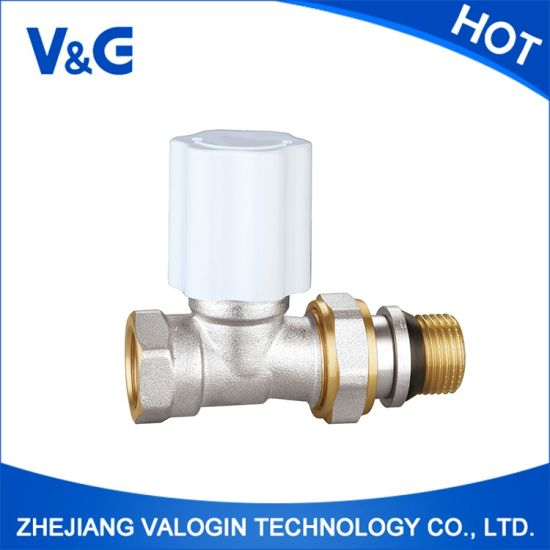 China Angle Brass Thermostatic Radiator Valve (K. 5104) pictures & photos