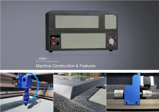 3050 Laser Machine for Leather Rubber Stamp 5030 Laser Cutting Machine Price pictures & photos